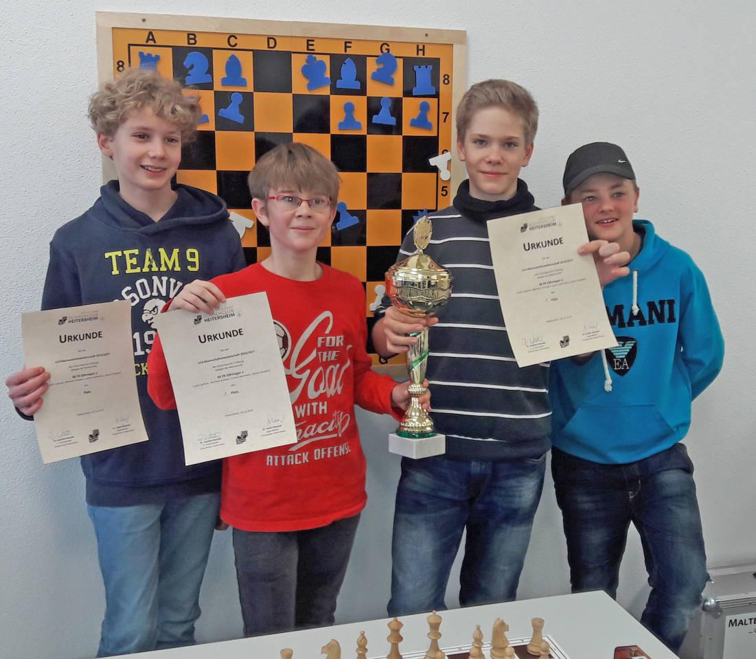 U14-Mannschaftsmeister SK FR-Zähringen