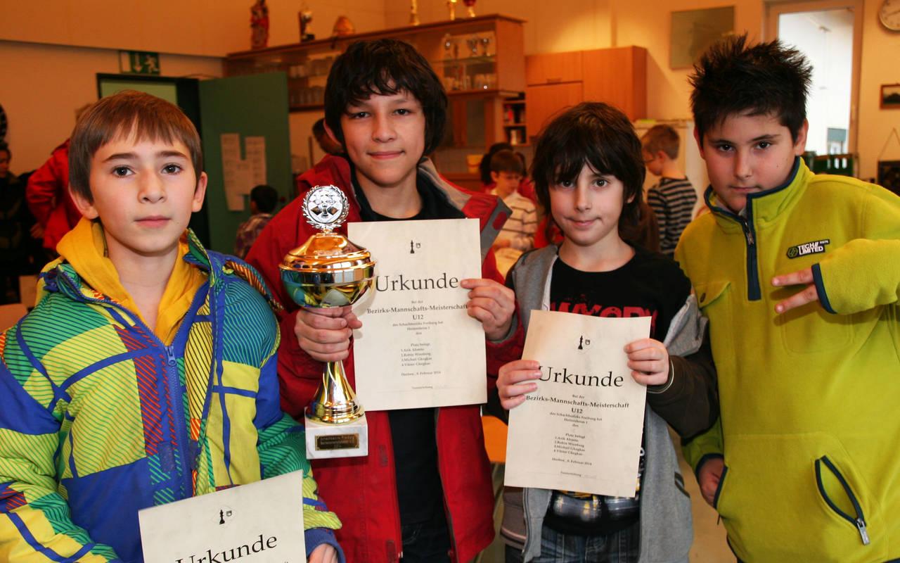 U12-Bezirksmannschaftsmeister 2014 Heitersheim 1