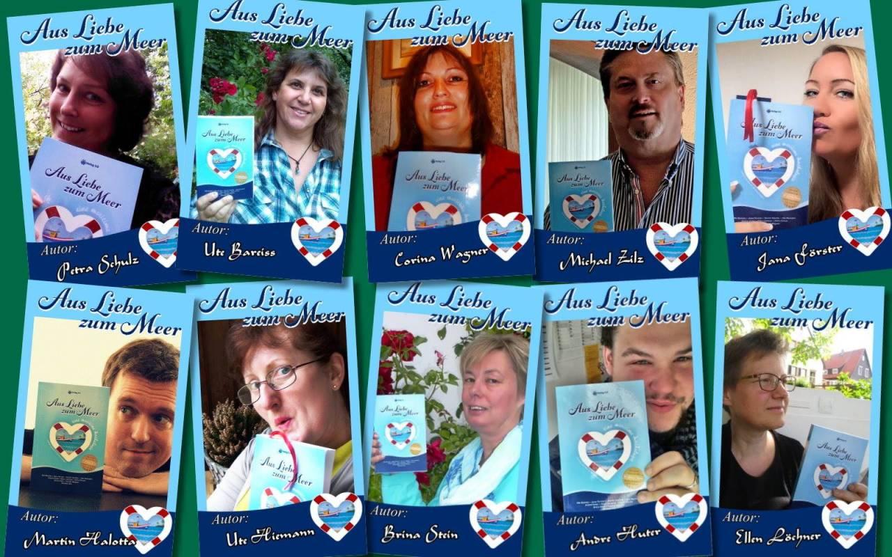 Autoren-Collage