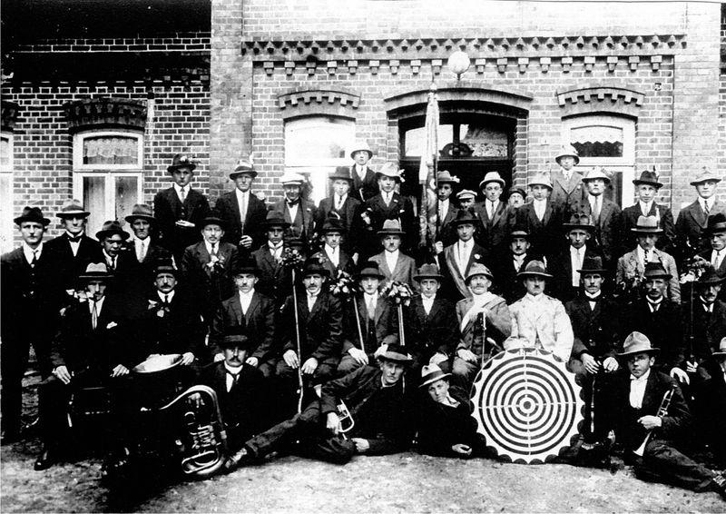 Vereinsfoto von 1923
