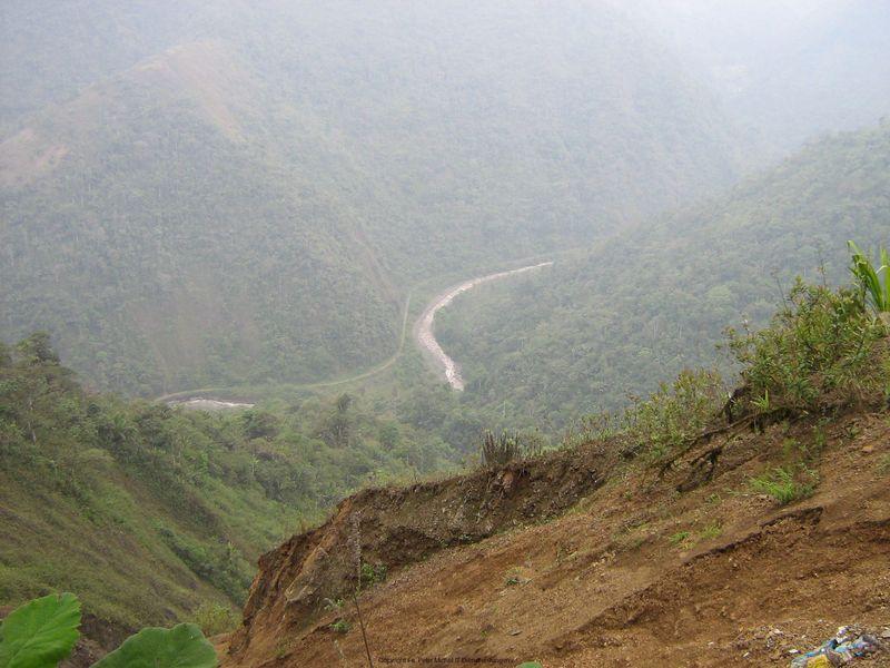 ehem. Bahnlinie Guayas-Quito