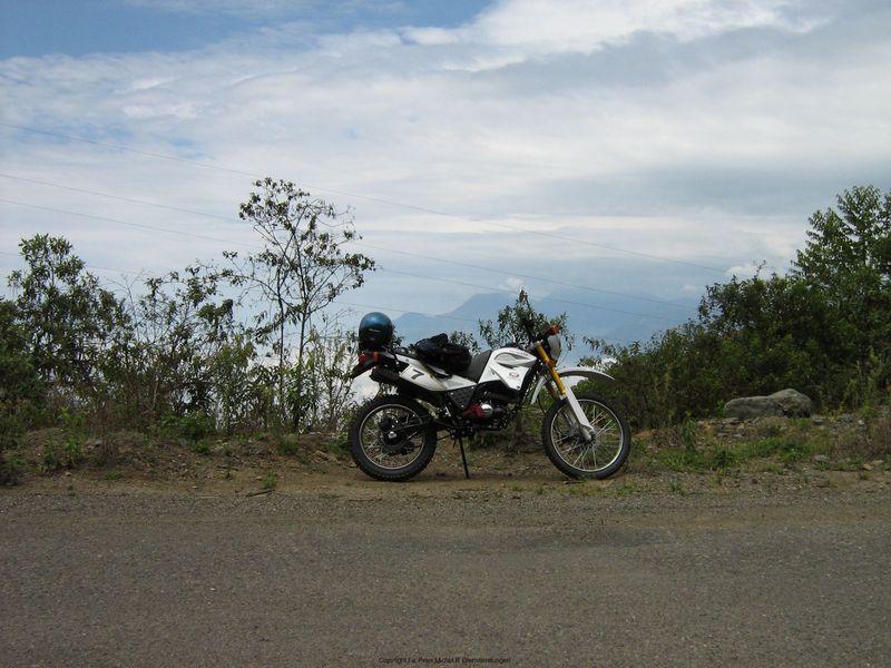 An der Straße Guayas-Huigra