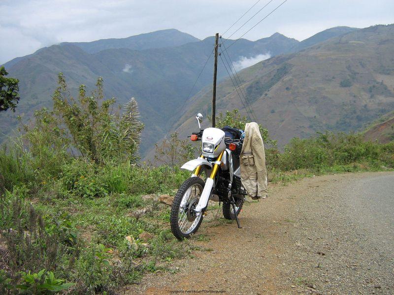 Straße nach Huigra