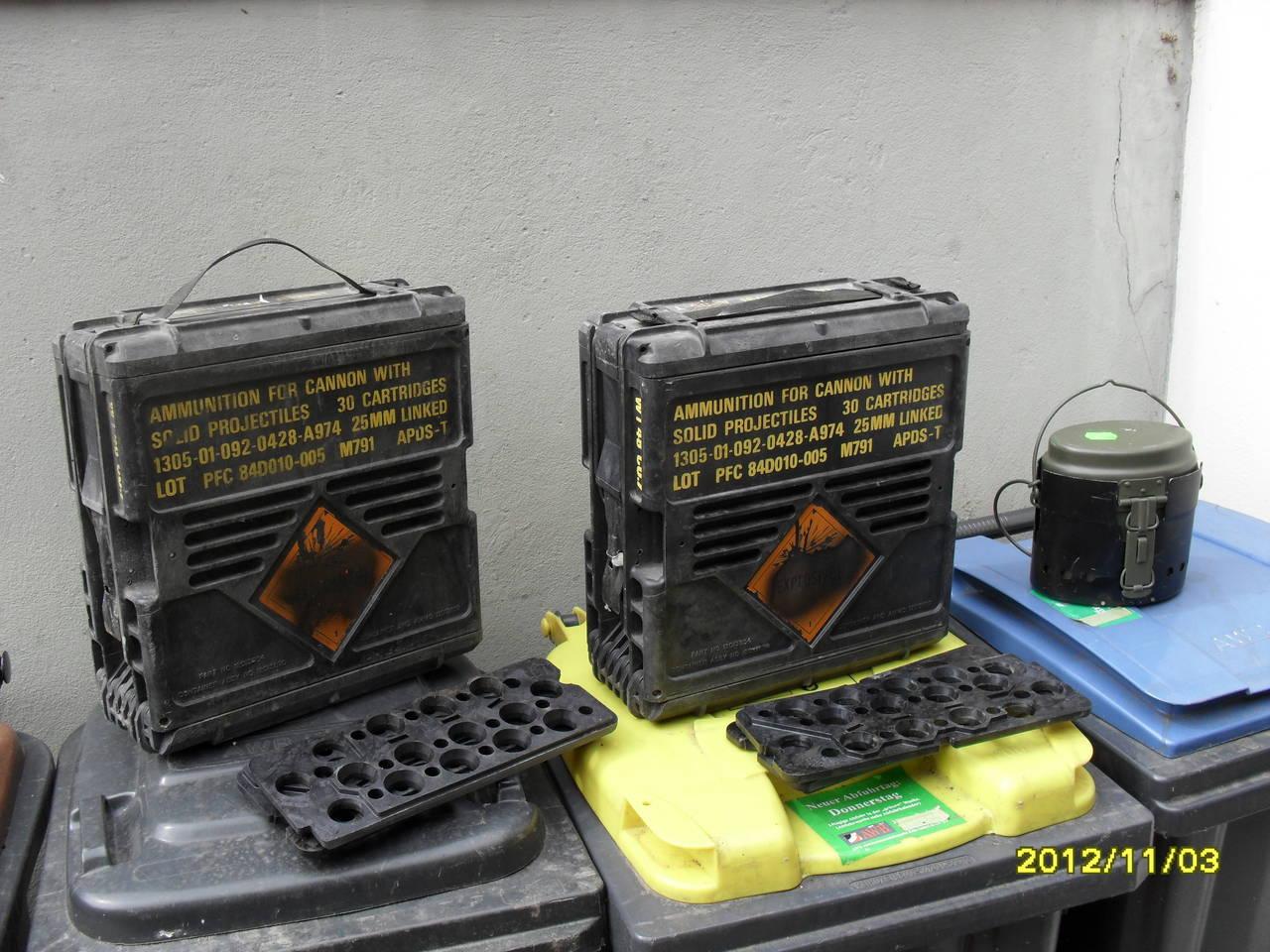 Munitionskoffer von millitaerbestaende.de gebraucht