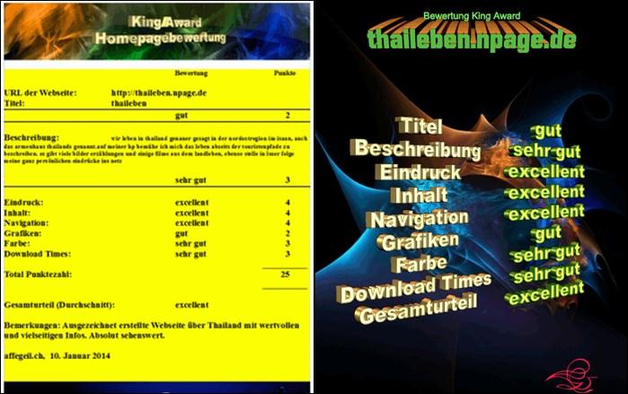 Bewertungsbild Kingaward