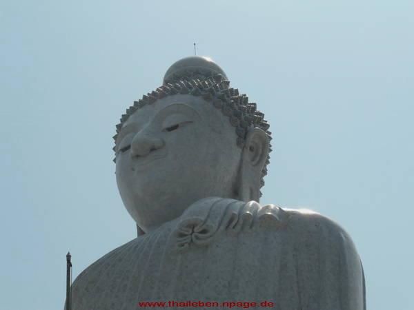 Buddhafigur Kopf aus Marmor