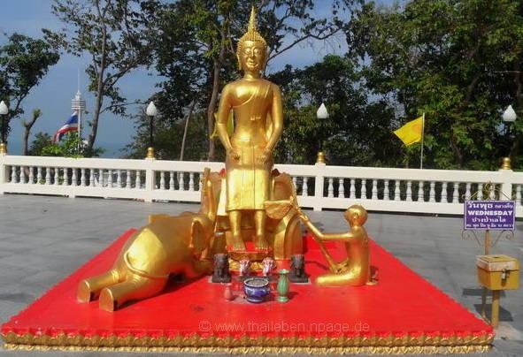 Bild Buddha Mittwoch am Abend