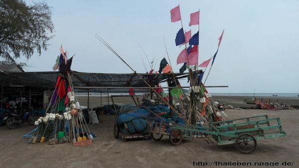 Sammelplatz der Fischer