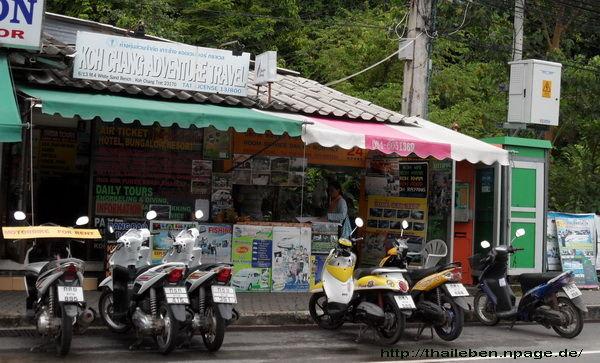Motorradverleih Koh-Chang