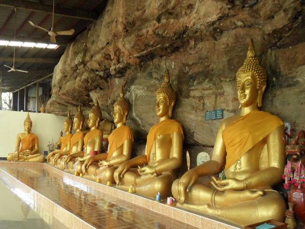 Buddhafiguren sitzend