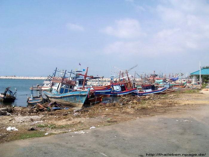 Fischerbootwerft Pattaya