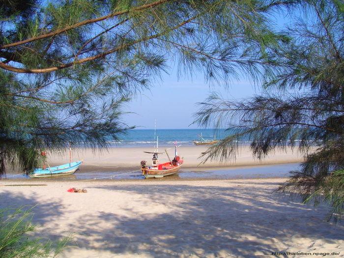 Fischerboot Hua Hin