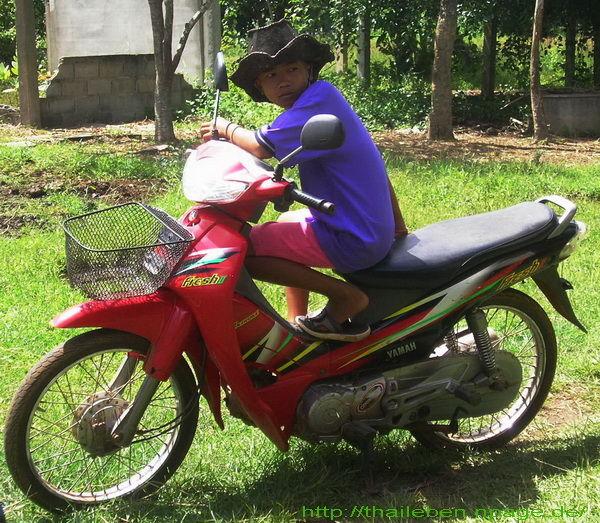 Motorradjunge