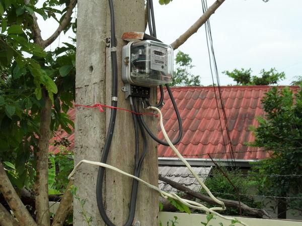 Bild Strom abgenommen