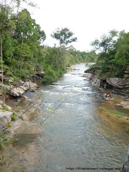 ruhiger Flusslauf
