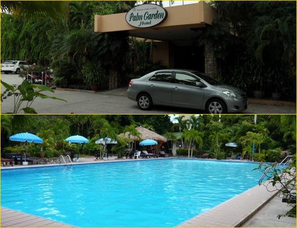 Palm Garden Hotel eingang