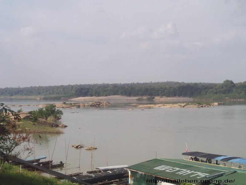 Aussicht nach Laos