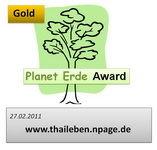Planet Erde Gold