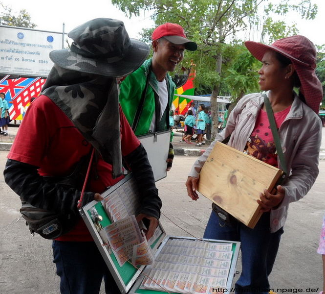 Lotterieverkäufer