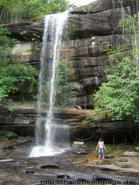 Wasserfall mit Yai