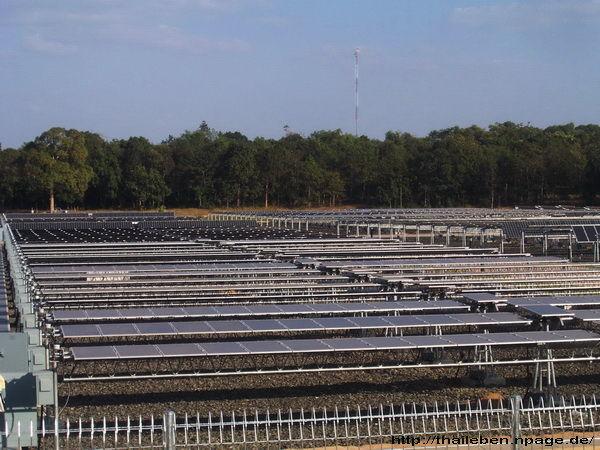 Solarfeld in Thailand