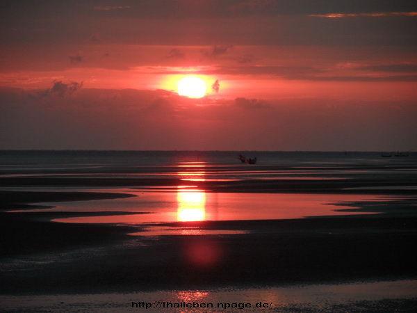 Sonnenuntergang Chantaburi