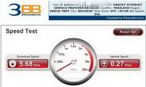 Speedtest 3 BB Thailand