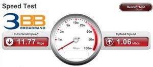 Speedtest 3 BB