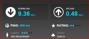 Bild Speedtest net