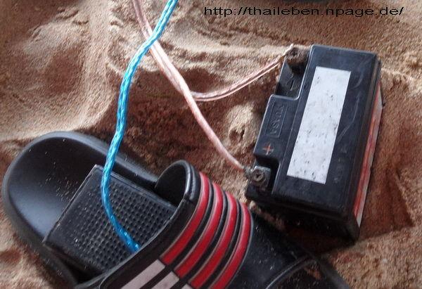 Batterie und Pedal
