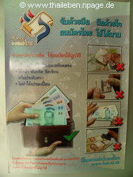 Thailand Geldscheine