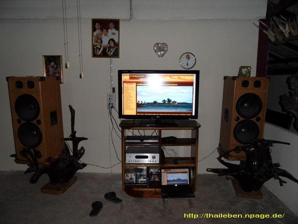 Fernseher mit Lautsprechern