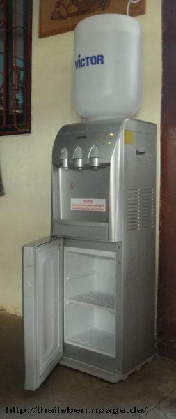 Wasserspender mit Kühlschrank