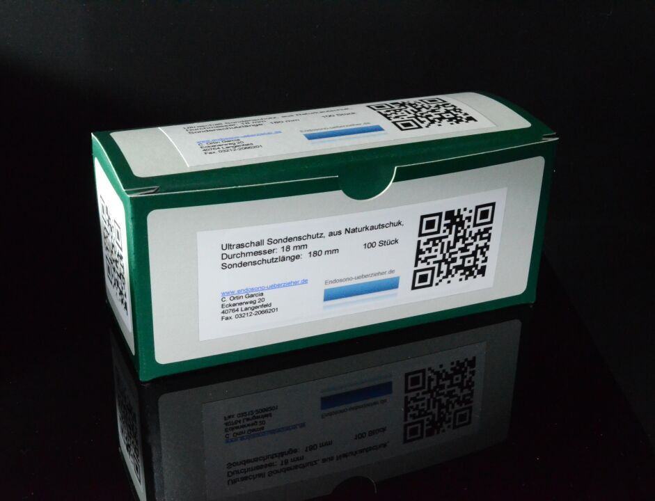 Schachtel Ultraschall Sondenschutz