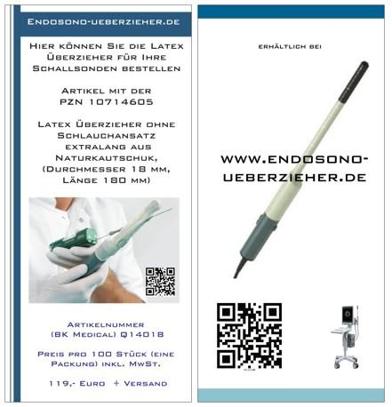 Flyer Ultraschall Schutzhüllen
