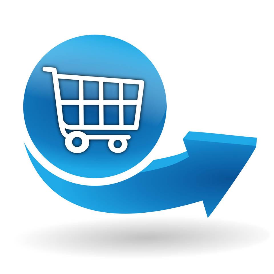 Button für Bestellung Online