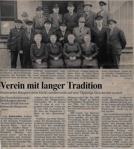 Zeitungsartikel 1997
