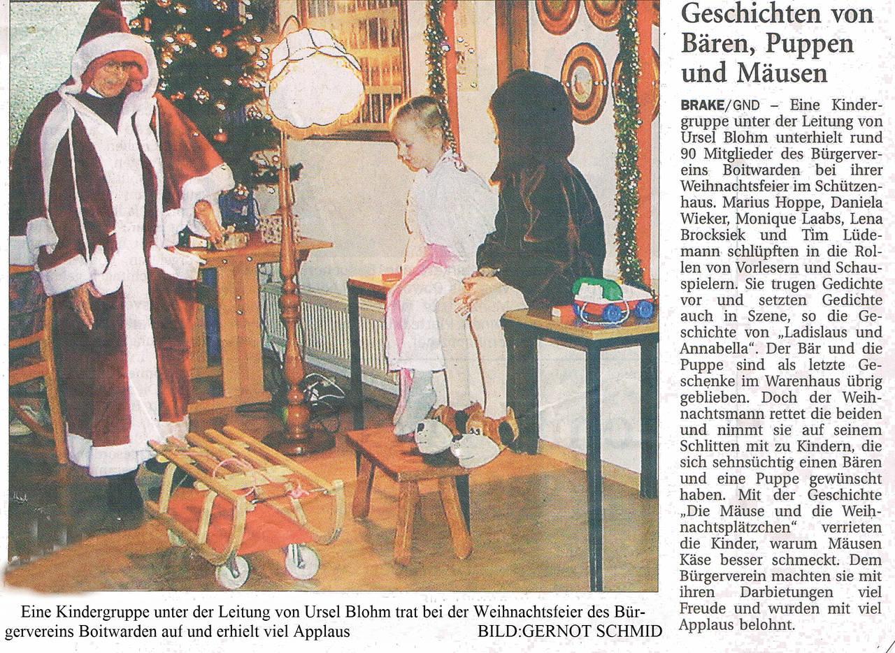 Zeitungsartikel 2006