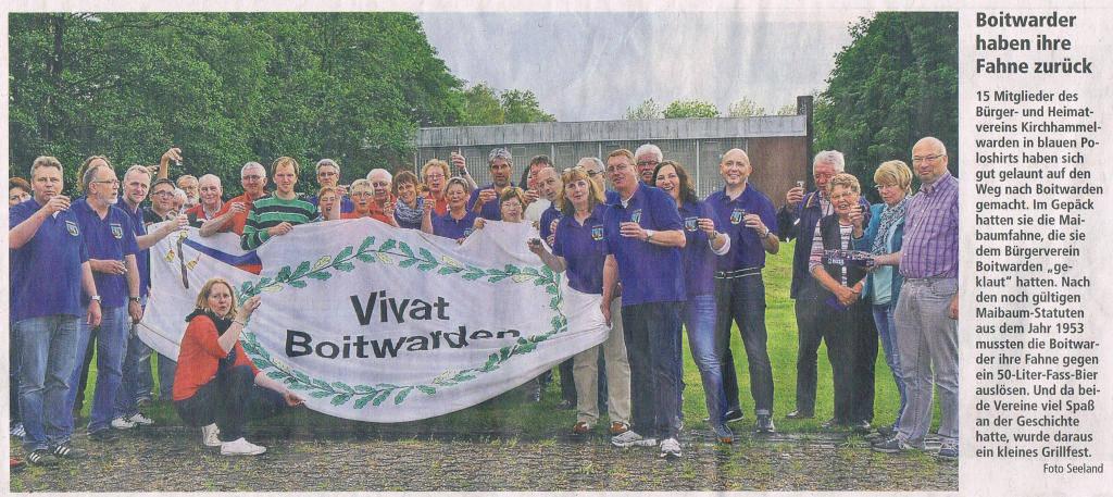 Copyright 2014 Kreiszeitung Wesermarsch