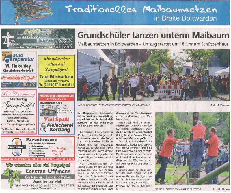 Copyright 2015 Wesermarsch am Sonntag