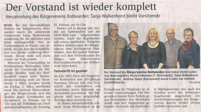 Copyright 2018 Kreiszeitung Wesermarsch