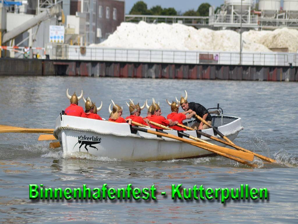 Kutterpull-Regatta Binnenhafenfest