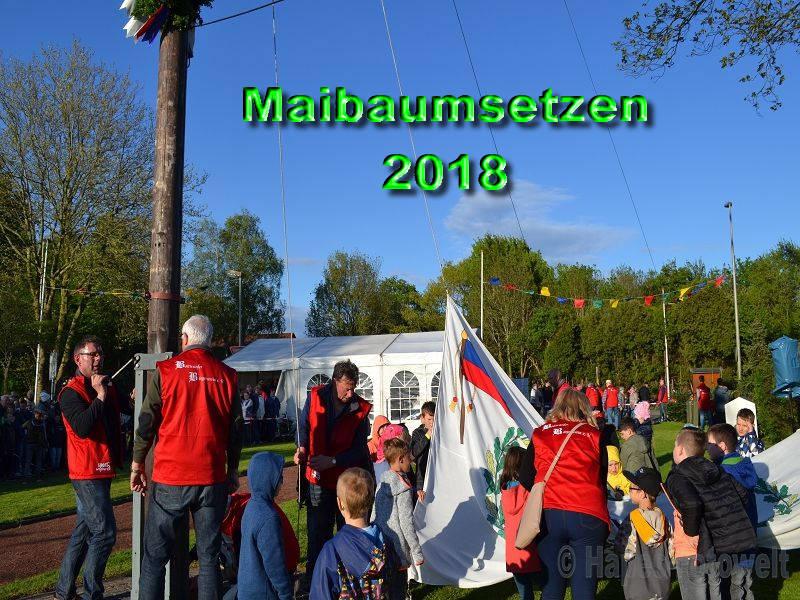 Maibaumsetzen 2018