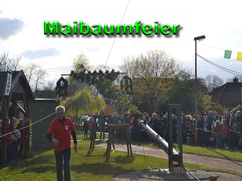 Maibaumfeier