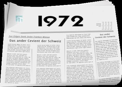 Zeitungsberichte 1972