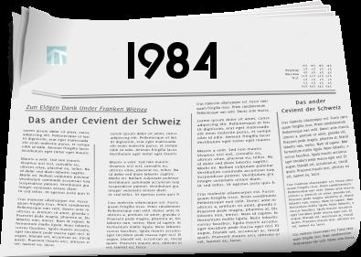 Zeitungsberichte 1984