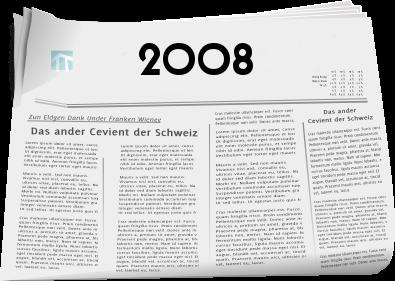 Zeitungsberichte 2008