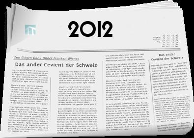 Zeitungsberichte 2012