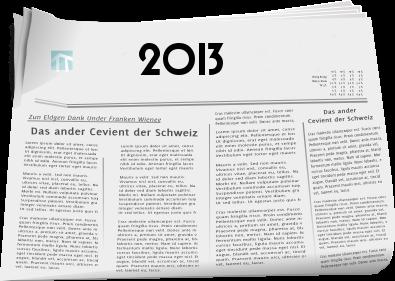 Zeitungsberichte 2013