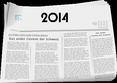 Zeitungsberichte 2014